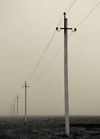 Columns high voltage  스톡 콘텐츠