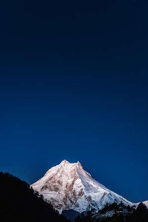 Blanc montagnes neige pic Banque d'images