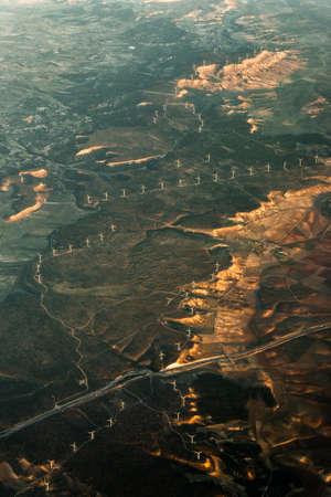 Vue aérienne d'Amsterdam. Pays-Bas. Vue panoramique aérienne.