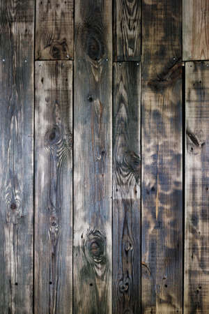 Dark wooden texture. Wood brown texture. Background old panels. Rustic background. Vintage colored surface. Banque d'images