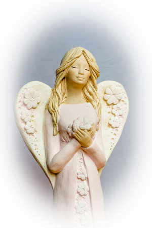 Angels are praying for us, for our soul and our future.
