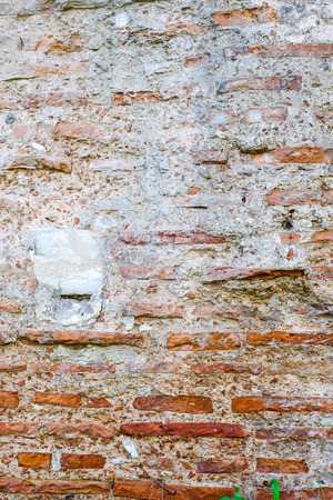 Stone Wall - Background Rustic Stone Wall in a Old Construction.