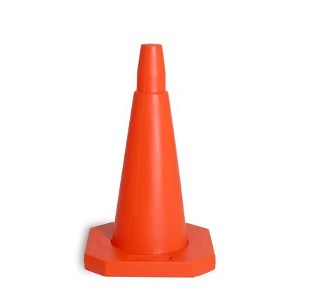 Traffic cone isolated Stock Photo - 343630