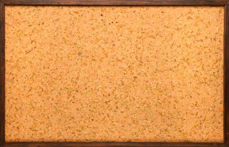 Empty cork board photo
