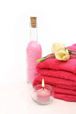 Wellness and relax, spa and aroma therapy setting Stock Photo - 2601857