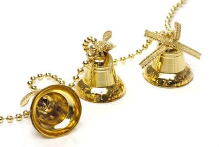 christmas bells: Three christmas bells. From christmas series