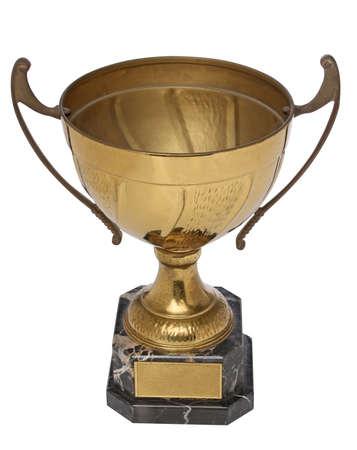 primer lugar: Primer lugar. Un trofeo de oro