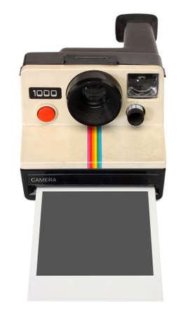 instant camera photo