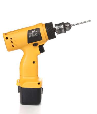 Cordless drill machine photo