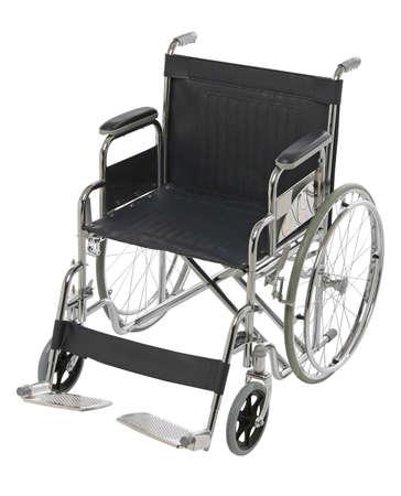 orthopaedic: Wheelchair isolated, ortopaedic equipment over white