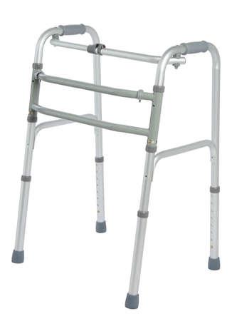 impairment: Walker, orthopeadic equipment over white