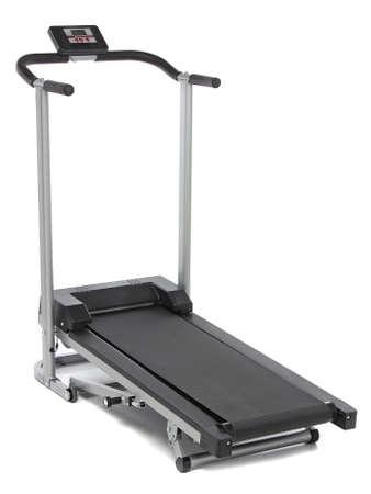 Treadmill isolated on white background Stock Photo