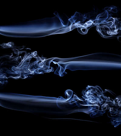 Abstract background made with real smoke Stock Photo - 13864447