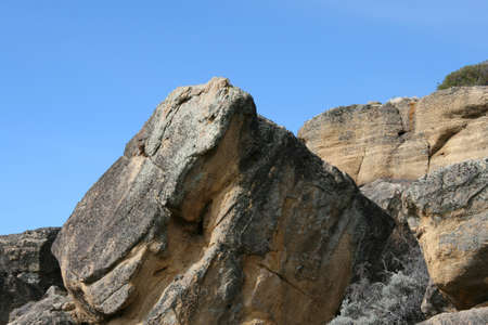 Beautiful rock textures from El Calafate, Argentina  photo