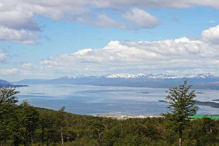 tierra: Beautiful landscape from Tierra del Fuego, Argentina Stock Photo