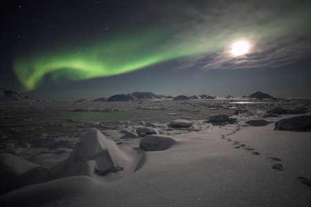 magnetismo: Aurora boreale  Archivio Fotografico