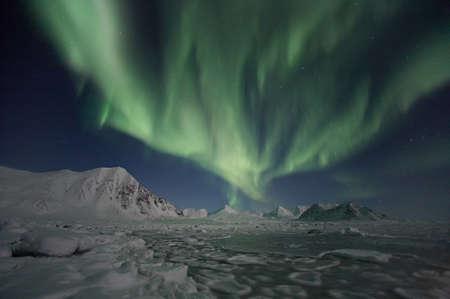 Northern Lights, Spitsbergen photo