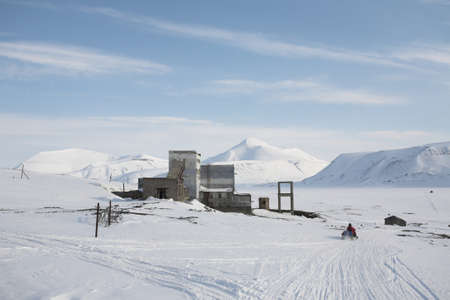 svalbard: Abandoned Russian Arctic village, Colesbukta - Spitsbergen, Svalbard