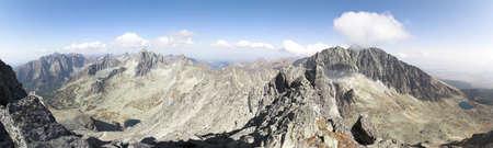 Mountain landscape - PANORAMA photo