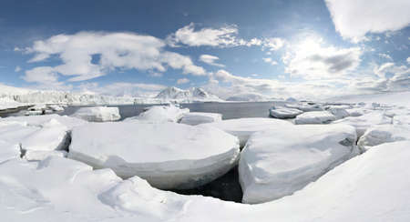 lapland: Winter in the Arctic - panorama