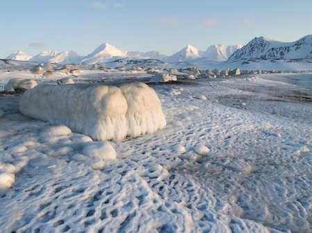 Winter Arctic landscape Stock Photo - 11195633