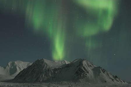 magnetosphere: Northern Lights sulle montagne