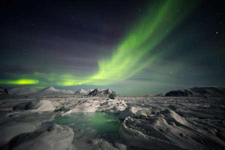 magnetosphere: Arctic magical landscape - Northern Lights
