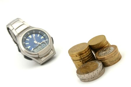Time is money Stock Photo - 2097592