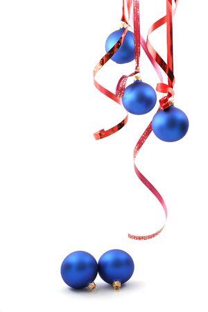 Blue balls - Christmas decoration