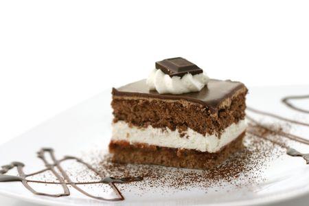 Pastel de chocolate  Foto de archivo - 2545855