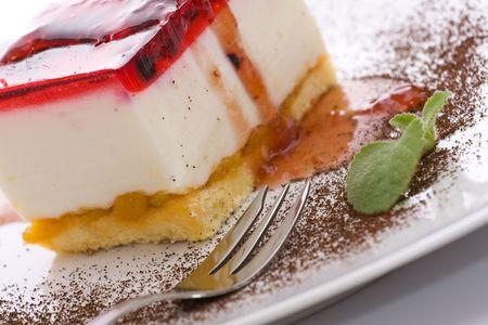 Sweet cheesecake