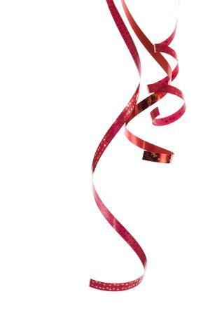 beautiful red ribbon Stock Photo