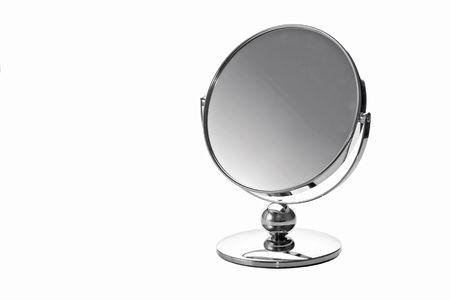 Mirror on white background Stock Photo