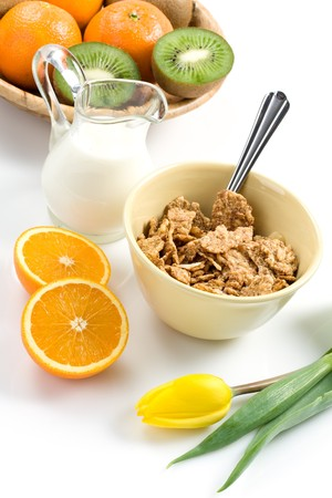 healthy breakfast Stock Photo - 4373110