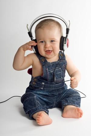 cute baby boy: Eight month beautiful baby boy Stock Photo