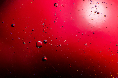 Abstract stains and drops on the whole frame. Horizontal frame Stock Photo