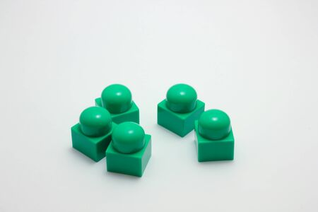 Green lego photo