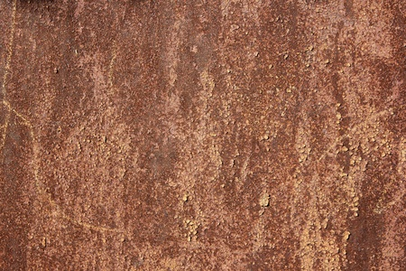 texture of rusty metal with paint
