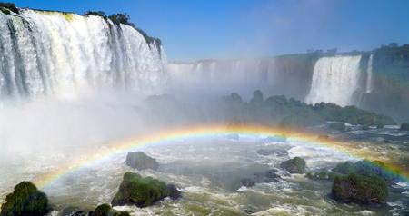 Devil's Throat At Iguazu Falls, Brazil
