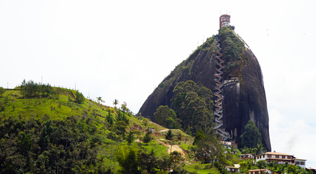 Rock Of Guatape, Piedra De Penol, Near Medellin, Colombia 写真素材 - 102590718