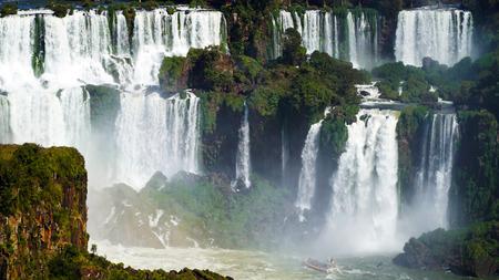 Devils Throat At Iguazu Falls, Brazil