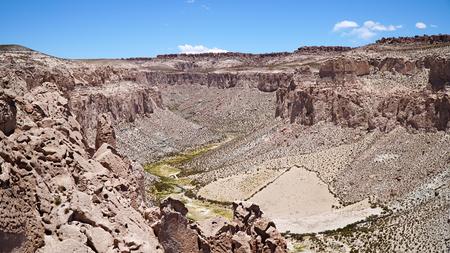 Anaconda Canyon in Bolivia