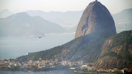 Sugarloaf Mountain Rio De Janeiro, Brazil Stockfoto