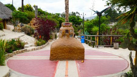 Equator Line Stone Landmark