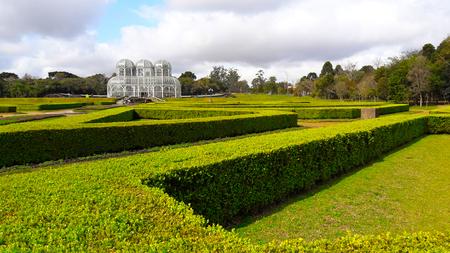 クリチバ植物園のグリーンガーデンズ,ブラジル