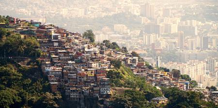リオデジャネイロブラジルのファベラス 写真素材