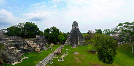 Tikal, Capital of Maya (Mayan) Civilization in Guatemala