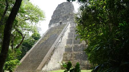 ティカル寺院、ティカル国立公園、グアテマラ