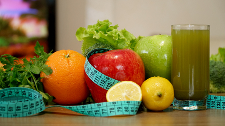 Fruits and Vegetables with Juice