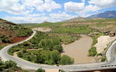 Euphrates River, Kemah in Erzincan